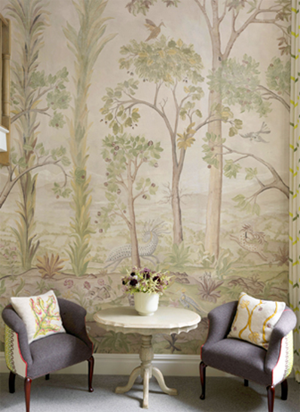 Kit Kemp and Melissa White Collaborate on another fabulous wallpaper